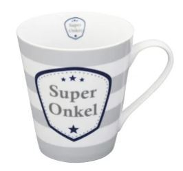 Krasilnikoff Happy Mug with Handle Super Onkel